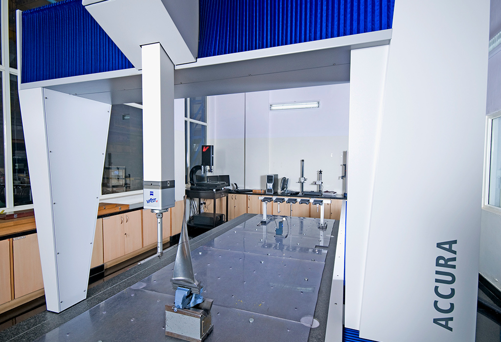 Zeiss measuring machine for precise critical component measurement