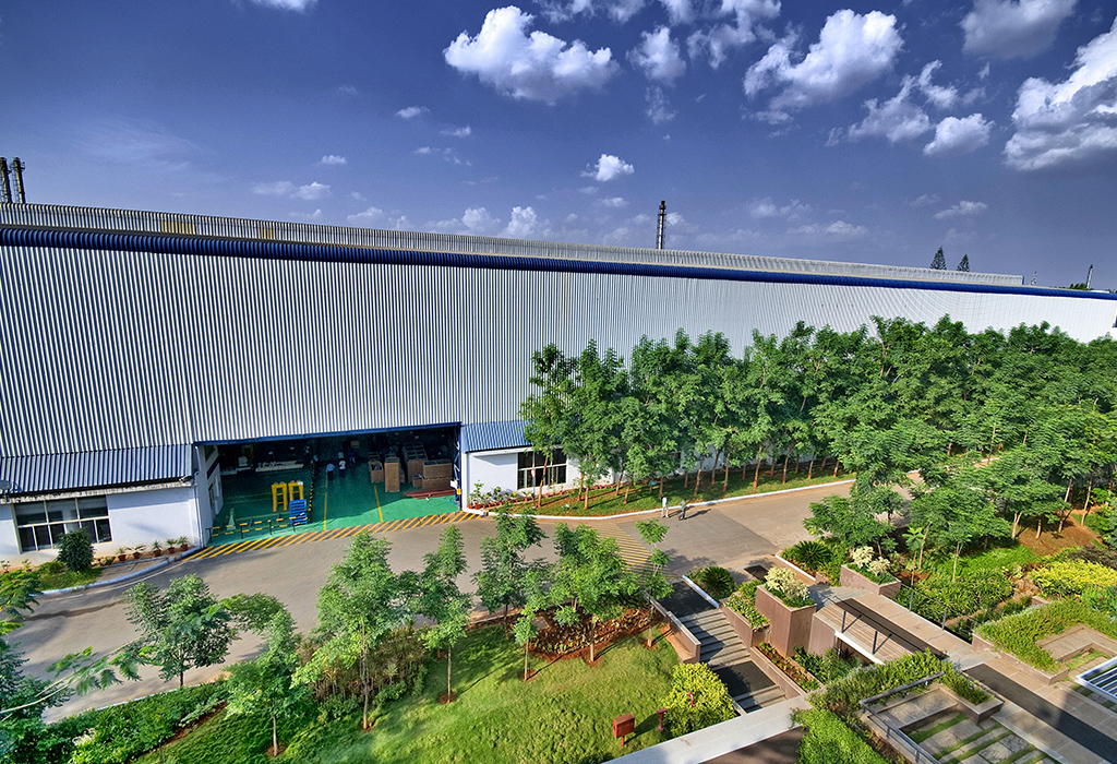 Triveni's world class manufacturing facility in Bengaluru